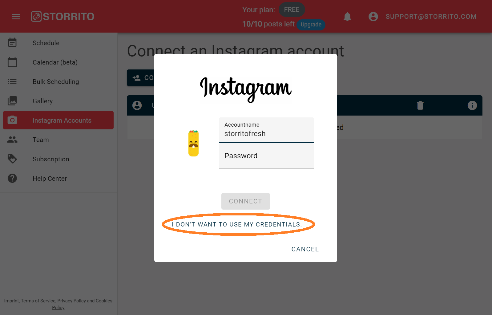 How to get the Instagram sessionid cookie   Storrito Blog